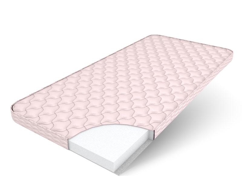 Беспружинный матрас для двуспальной кровати с поролоном
