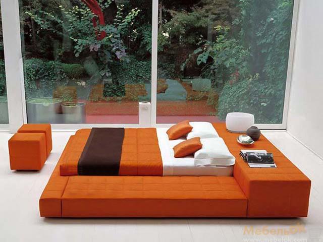 Большая кровать подиум для двоих
