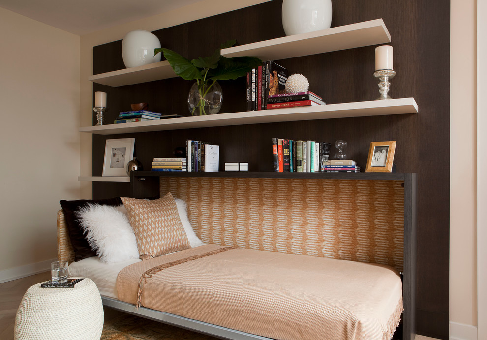 Чем меньше пространства, тем выгоднее становиться откидная кровать