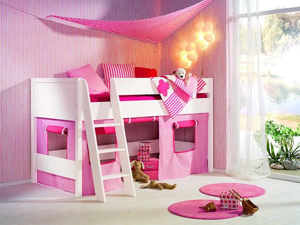 Чердак кровать для девочки