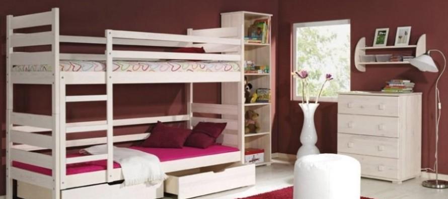 Деревянная двухъярусная кровать в детскую – оптимальное решение на много лет