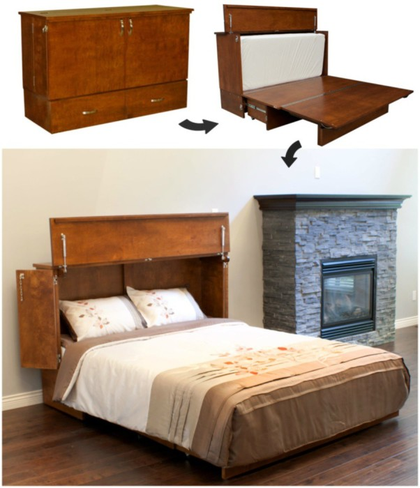 Деревянная кровать трансформер для взрослых