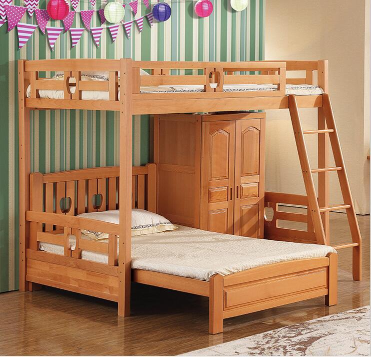 Деревянная модель двухъярусной кровати