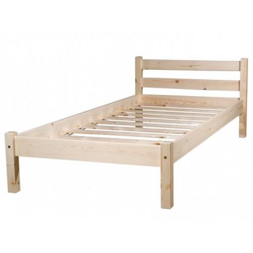 Деревянная односпальная кровать 90х200