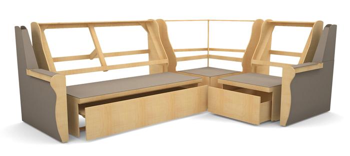 Деревянный каркас дивана кровати
