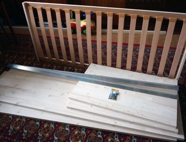 Детали для кровати