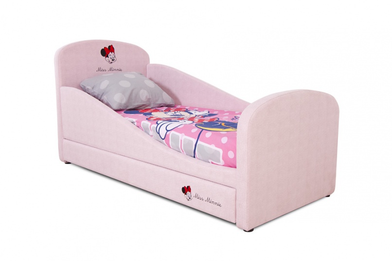Детская кровать с мягким ограждением
