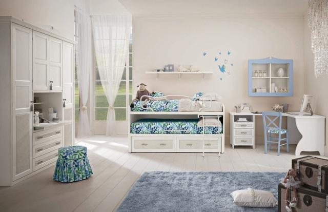 Детская с выдвижной кроватью для двух детей