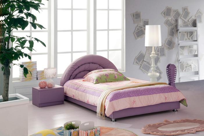 Детские кожаные кровати