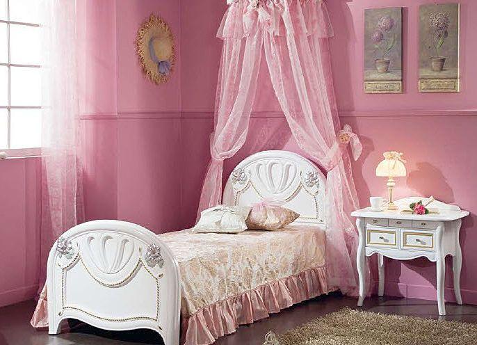 Детские кровати для девочек с балдахином