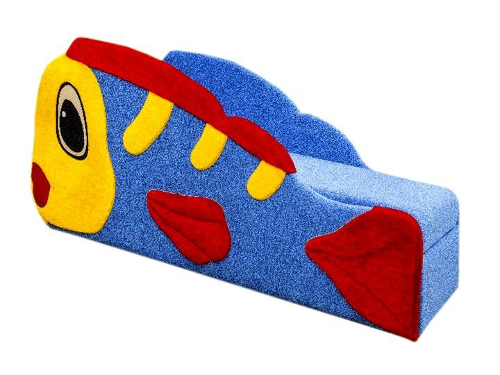 Детский диван с бортиками в виде рыбки