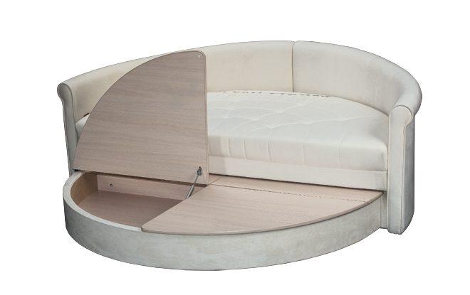 Диван кровать круглой формы - основные преимущества