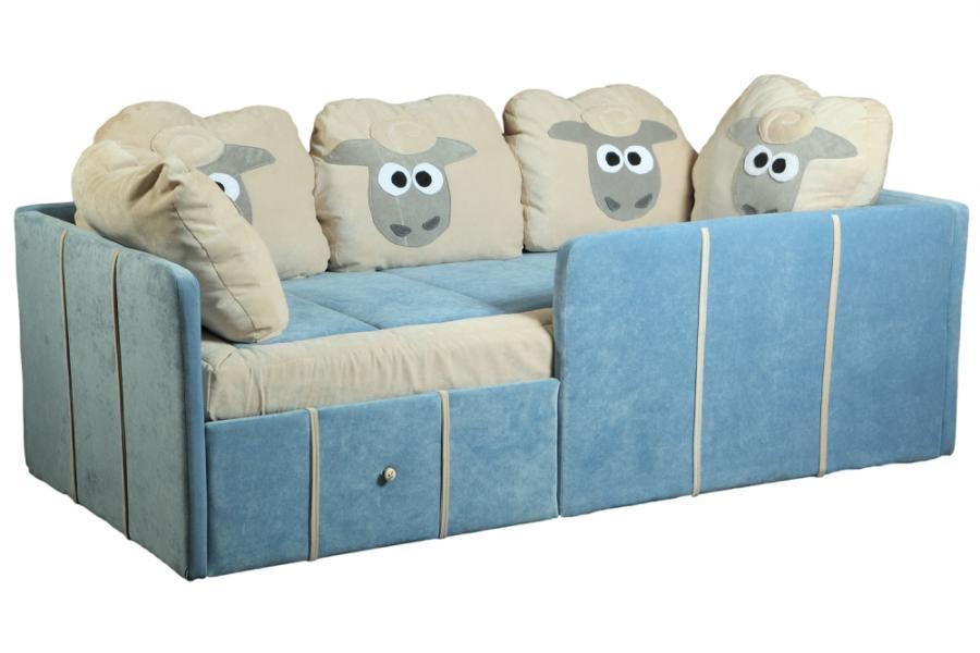 Диван кровать с бортами по периметру