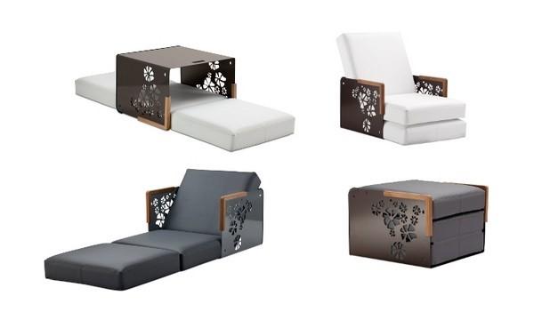 Дизайнерское кресло кровать