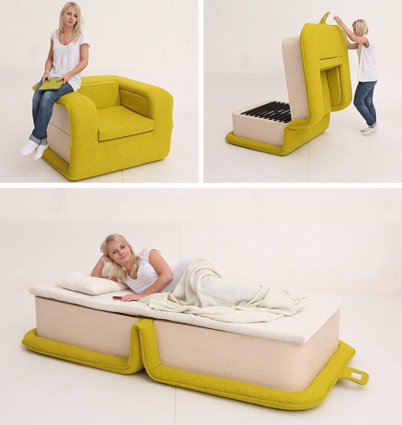Дизайнерское кресло трансформер