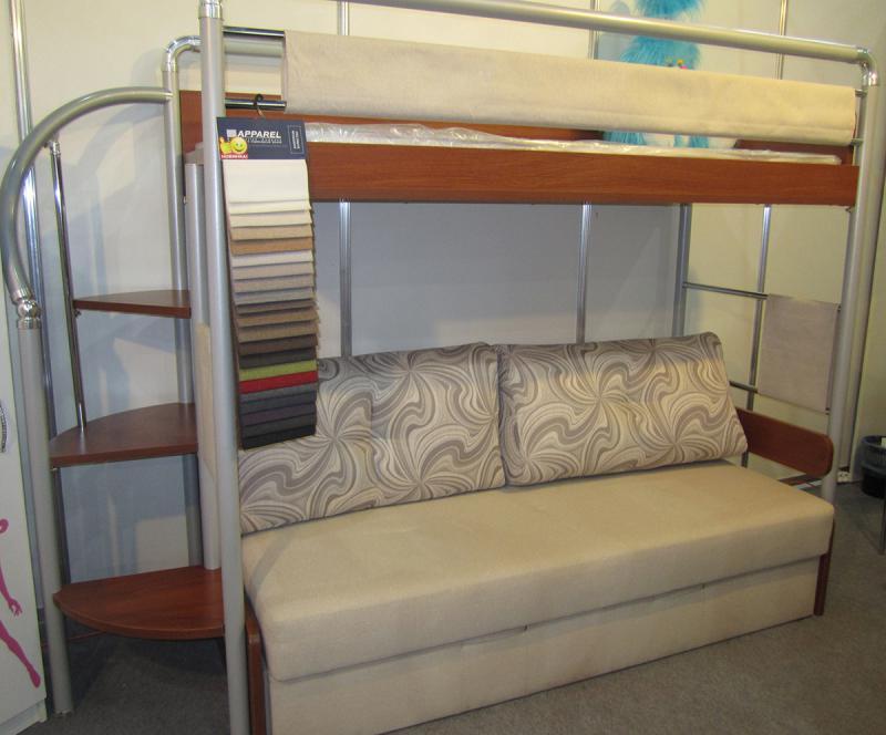 Двухъярусная кровать - функциональное решение