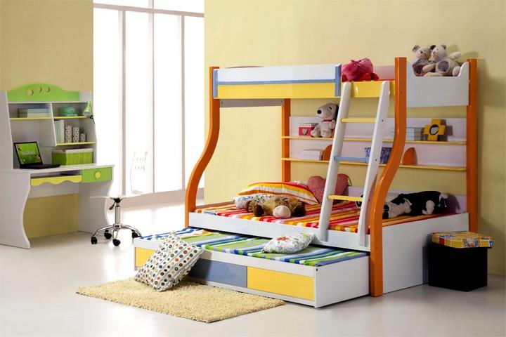 Двухъярусная кровать малогабаритная