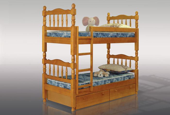 Двухъярусная кровать разборного типа