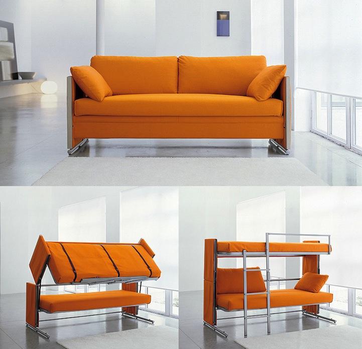 Двухъярусные диван кровать