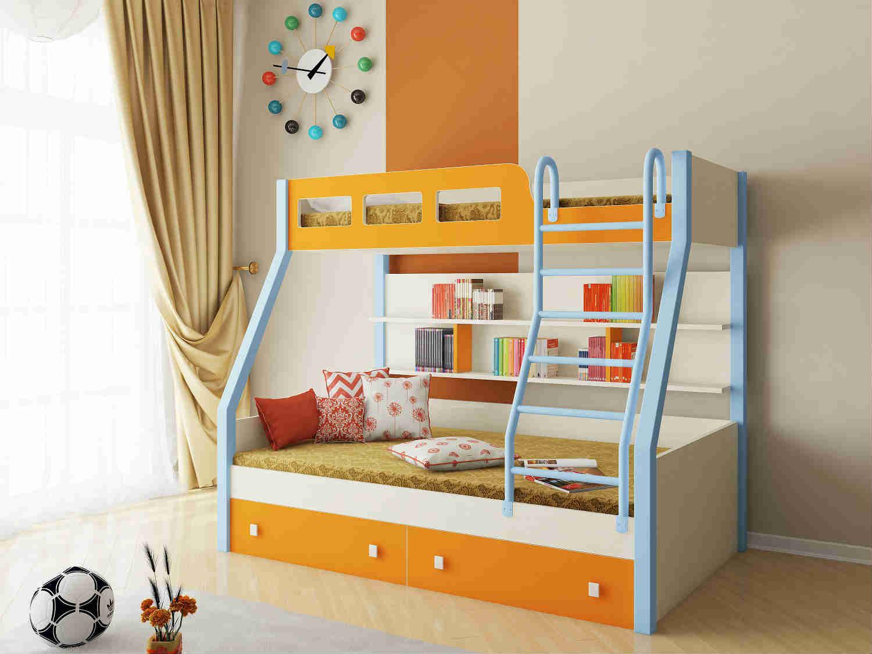 Двухъярусные кровати для 2 девочек