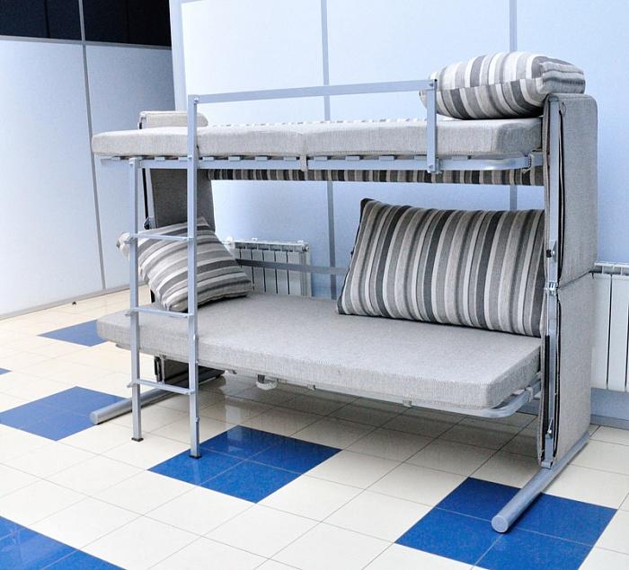 Двухъярусные кровати трансформеры