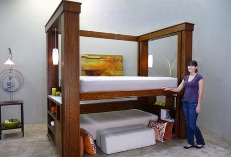 Двухъярусный комплект для спальни