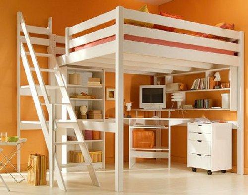 Двуспальная кровать чердак для взрослых
