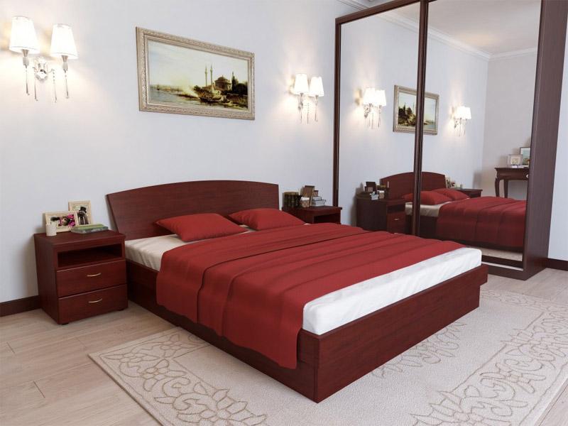 Двуспальная кровать классическая