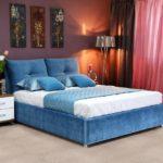Двуспальные кровати, виды и фото вариантов