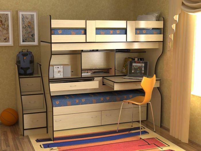 Функциональная детская мебель