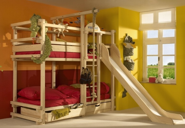 Функциональная кровать чердак для детей от 3 лет