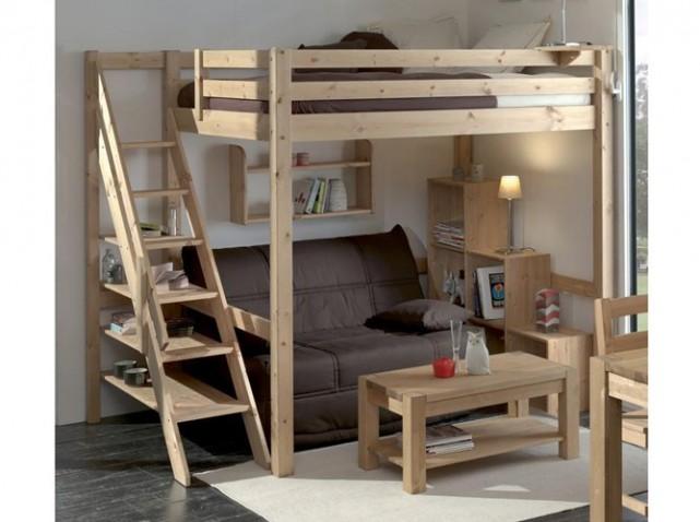 Функциональная кровать чердак для взрослых