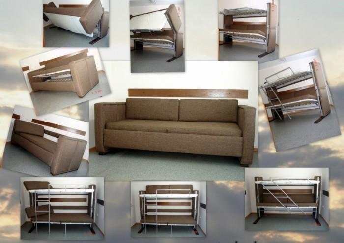 Функциональный диван трансформер
