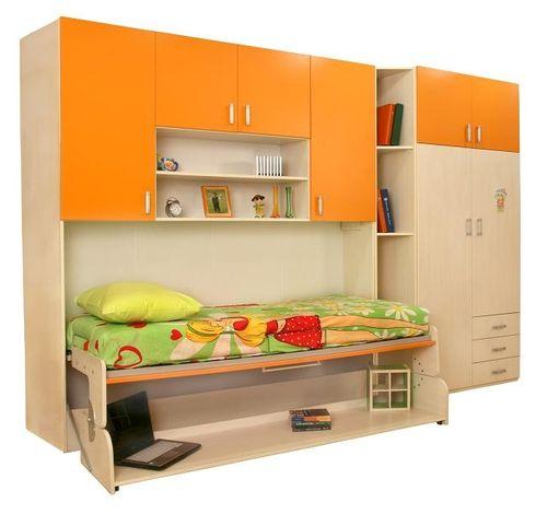 Функциональный вариант кровати шкафа