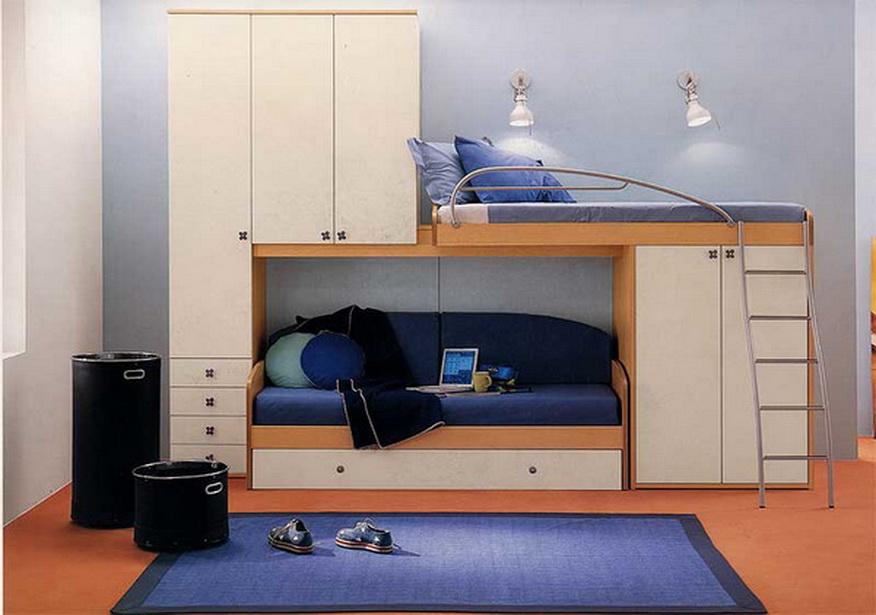 Гарнитур с диваном и кроватью