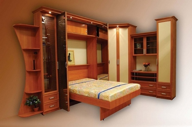 Гарнитур со шкаф кроватью