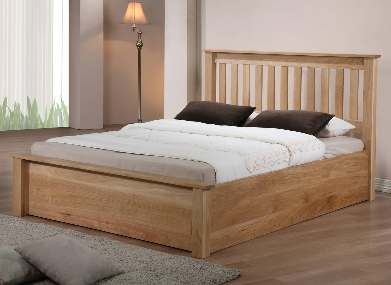 Двуспальная кровать из массива дерева своими руками