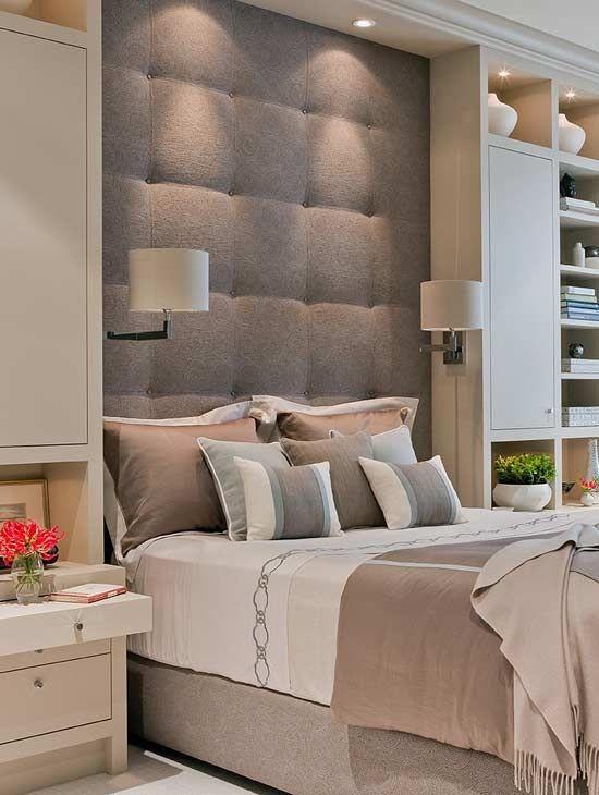 Как разместить кровать в интерьере спальни