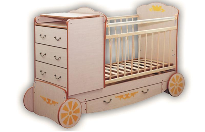 Карета кровать трансформер детская для детей