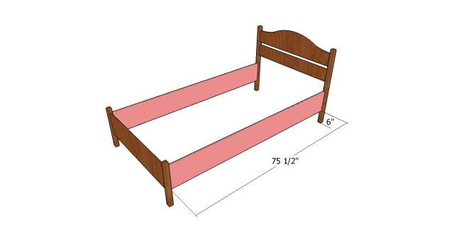 Каркас детской кроватки