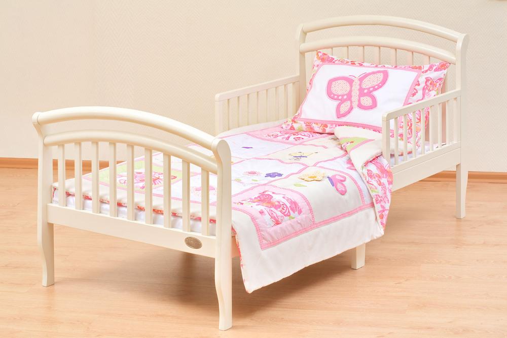 Классическая кровать от 3 лет с бортиками