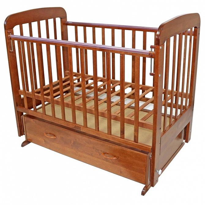 Классическая кроватка с маятником