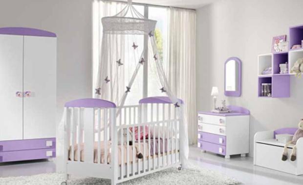 Классический вариант кроватки для новорожденного