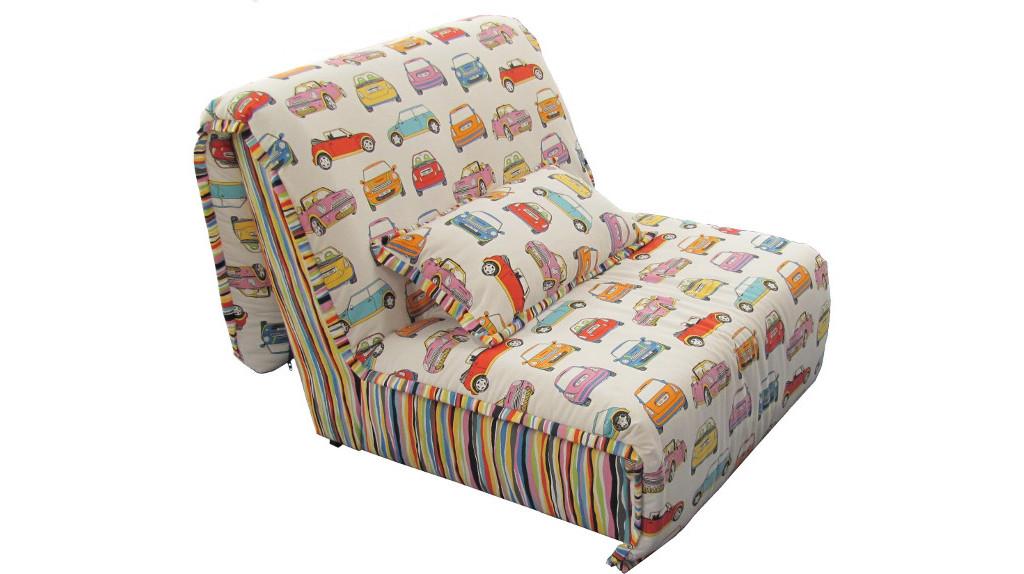 Компактное детское кресло кровать