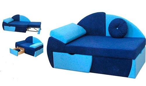 Компактный диван кровать