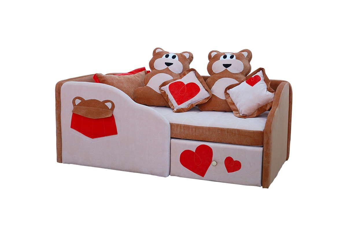 Красивая детская диван кровать