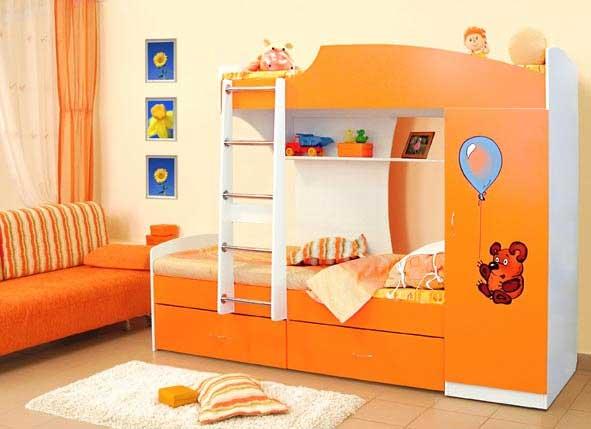 Красивя кровать для малыша