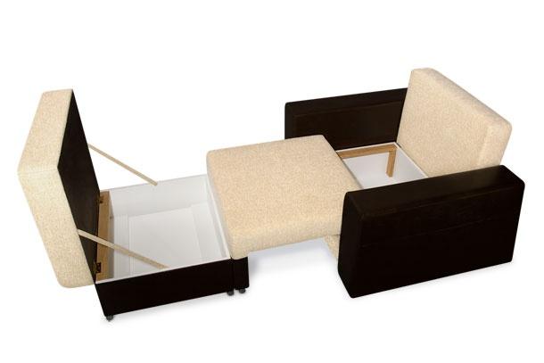 Кресло кровать с ящиком