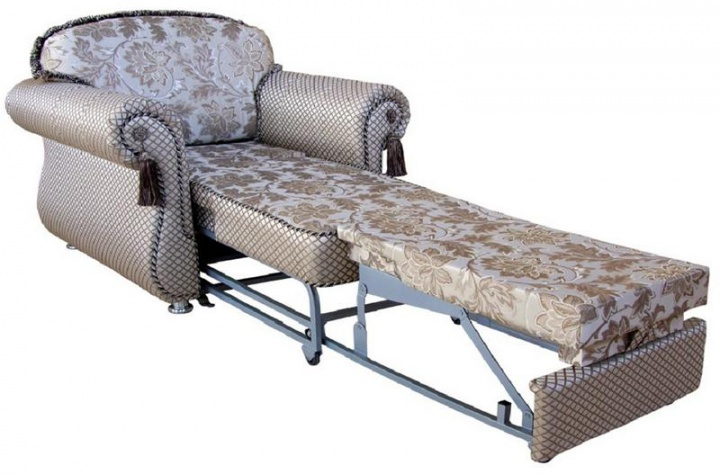 Кресло кровать в разложенном виде
