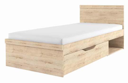 Кровать 90х200 с ящиком